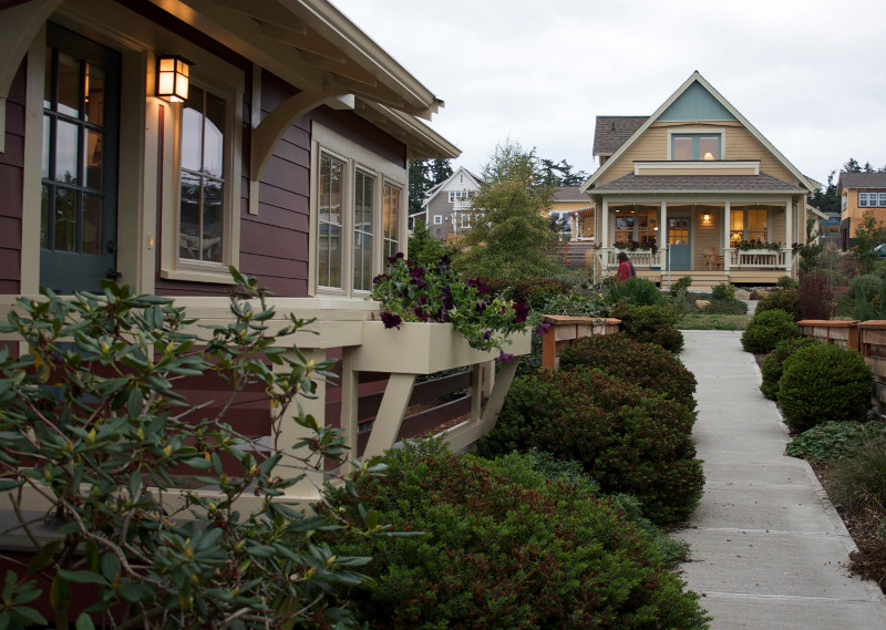 Project: Umatilla Hill Neighborhood in Port Townsend, WA, by Ross Chapin Architects. Built by Kimball & Landis Construction