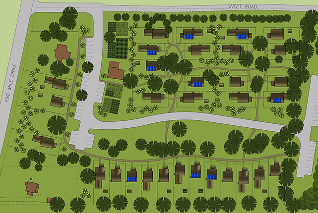 Click here for the full prospective site layout for the Amabel Pocket Neighborhood