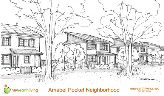 Illustrative image of the Amabel Pocket Neighborhood