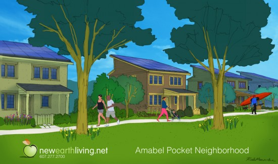 An Illustrative Image of the Amabel Pocket Neighborhood